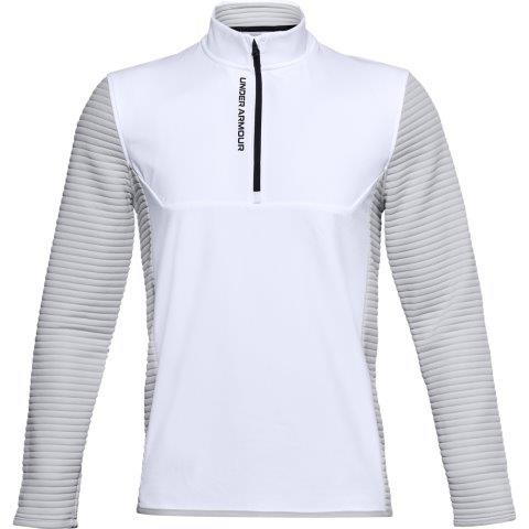 Under Armour Evolution Daytona Halfzip Pullover Herren weiß