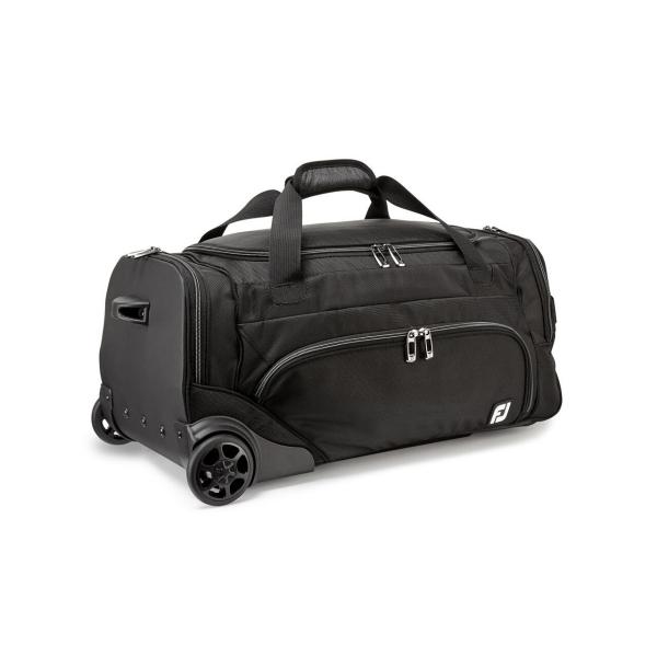 Footjoy Wheeled Duffel Bag Reisetasche schwarz