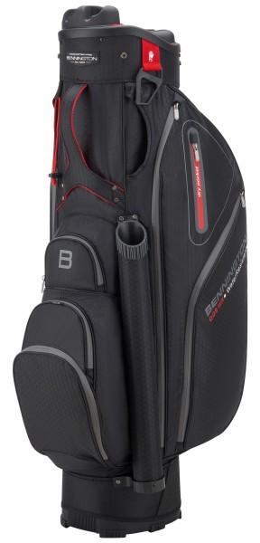 Bennington QO9 WR Cartbag schwarz/rot/Oversize & schwarz/rot