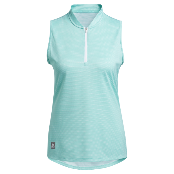 adidas Equipment sleeveless Polo Damen mint