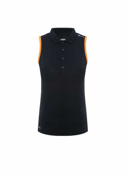 Colmar Solid Polo Sleeveless Damen navy