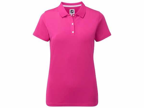 Footjoy Stretch Pique Poloshirt Damen pink