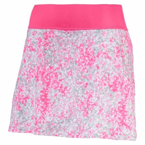 Puma PWRSHAPE Floral Knit Skirt Damen pink/weiß
