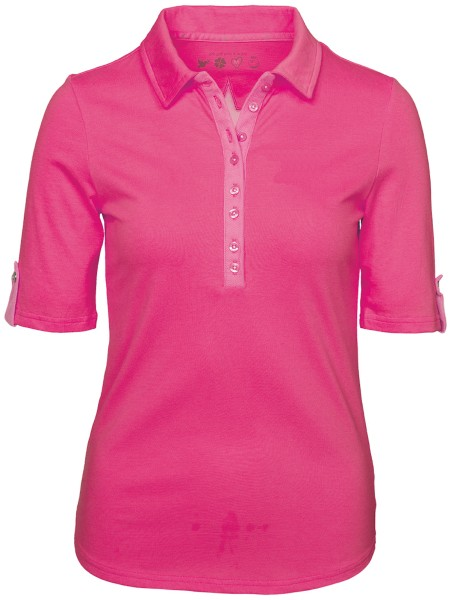 Girls Golf Serafina shortsleeve Polo Damen pink