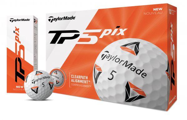 TaylorMade TP5 Bälle 12 Stk.