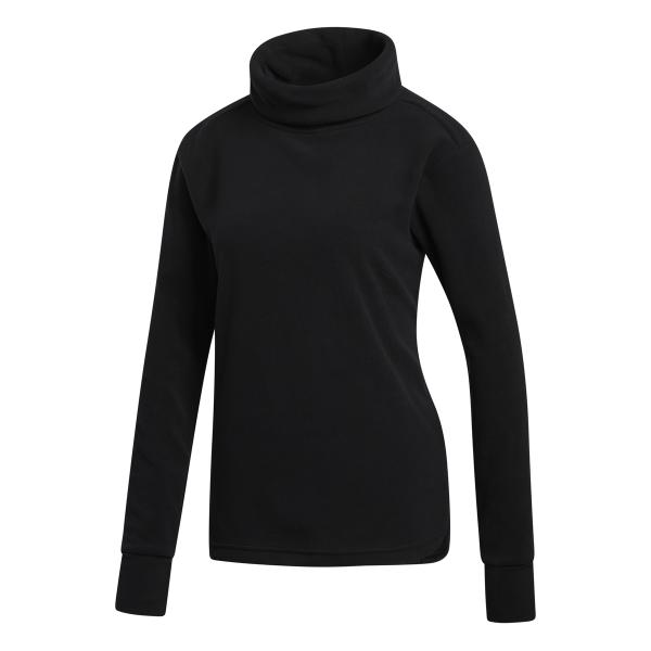 adidas Polar Fleece Pullover Damen schwarz