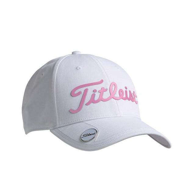 Titleist Performance Ball Marker Cap weiß/rosa
