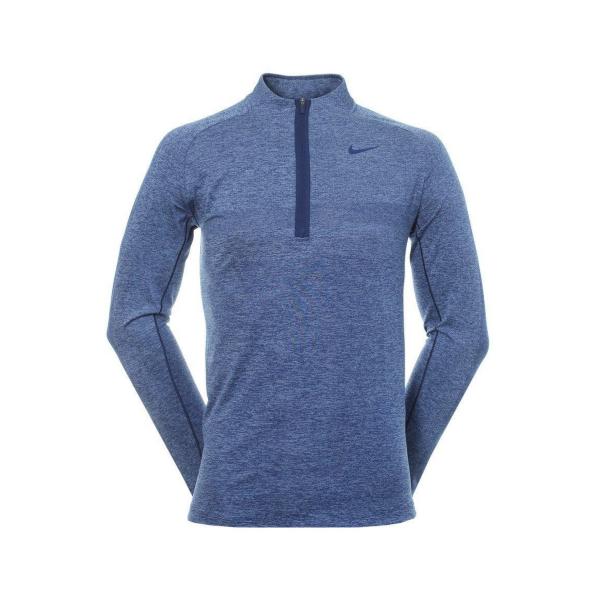 Nike Dri-FIT 1/2-Zip Pullover Herren blau