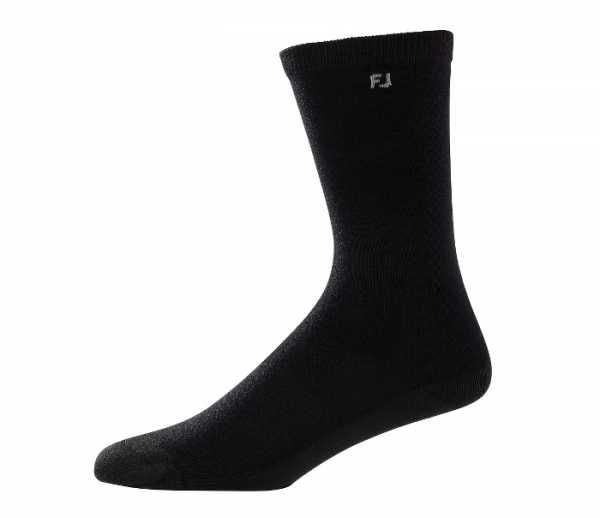 Footjoy Damen ProDry Lightweight Crew (28cm) Socken schwarz