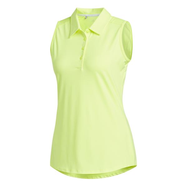 adidas Ultimate365 Sleeveless Polo Damen gelb