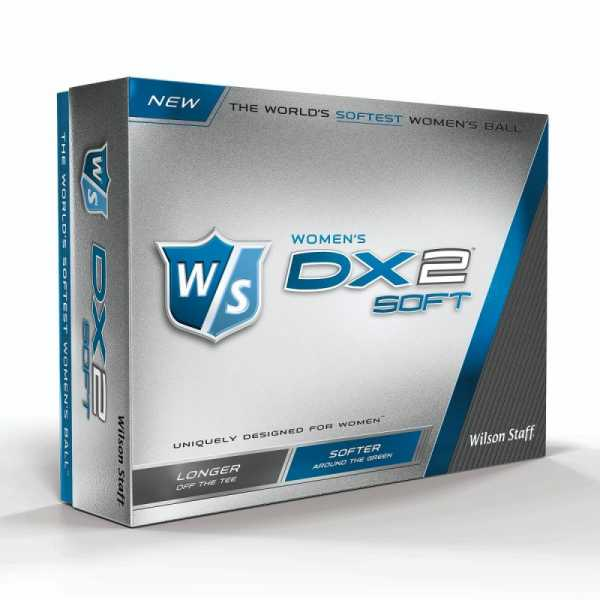 WILSON STAFF DX2 SOFT Lady / weiß / 12 Bälle