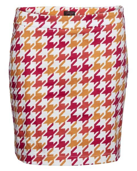 Girls Golf Pink Houndstooth's Skort Damen