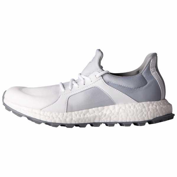 Adidas climacross Boost Damen Golfschuh weiß/grau/silber