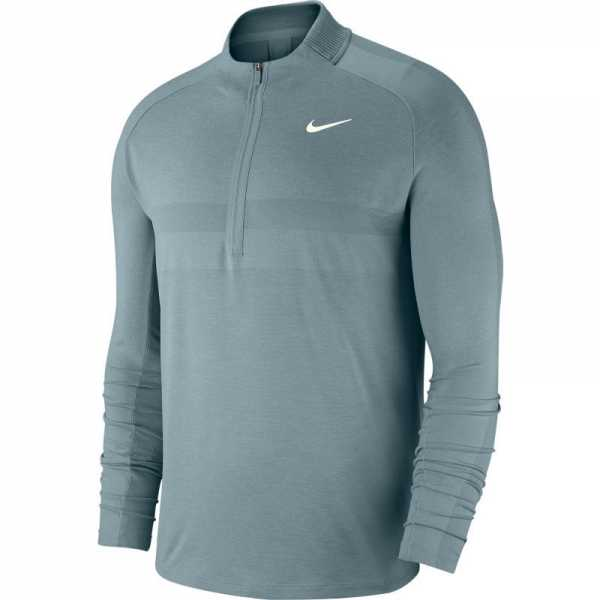 san francisco 8595b 7c0f9 Nike Dri-FIT 1/2-Zip Pullover Herren hellblau