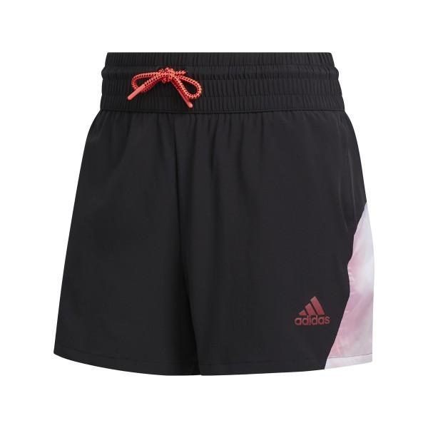 adidas Pull-On Color Block Short Damen schwarz