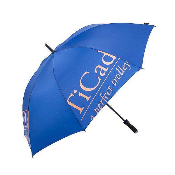 """TiCad Regenschirm mit TiCad-Logo """"Auslauf"""""""