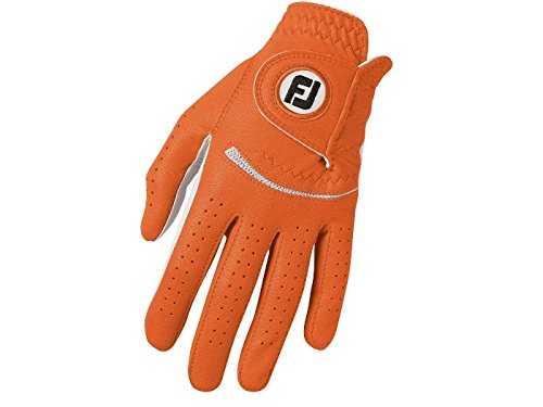 Footjoy Spectrum Damenhandschuh weiß/orange