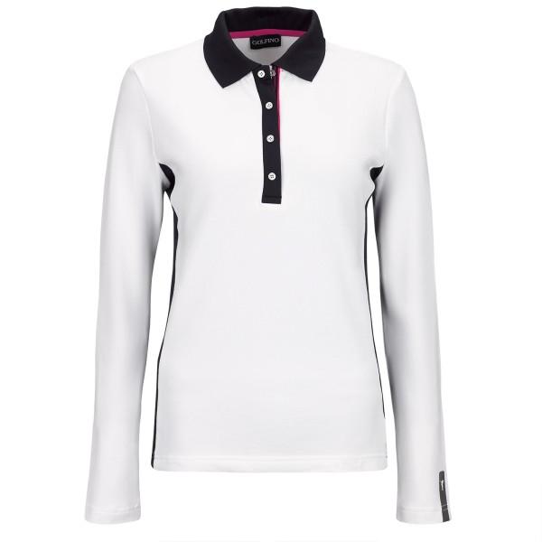 Golfino Revolution UV Pique Polo Damen weiß
