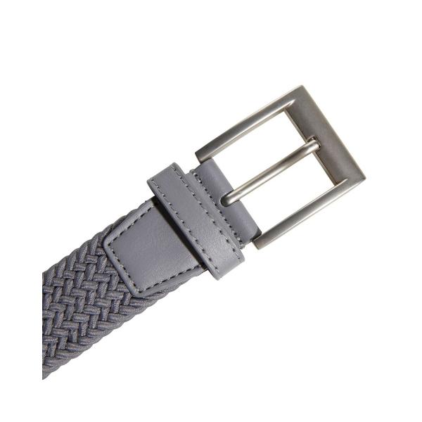 adidas Braided Stretch Belt grau