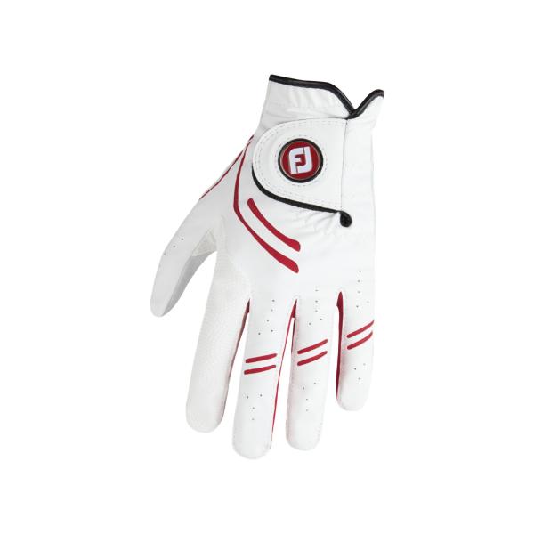 Footjoy GTXtreme Handschuh Herren weiß/rot