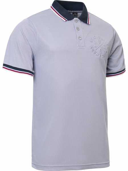 Abacus ROCKY Polo Shirt Herren grau