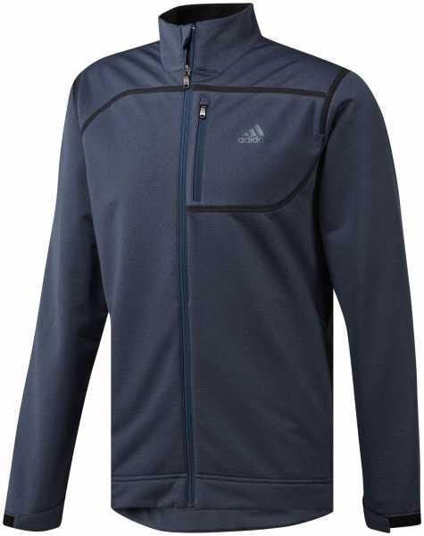 Adidas Climastorm Ribbed Softshell Jacke Herren navy