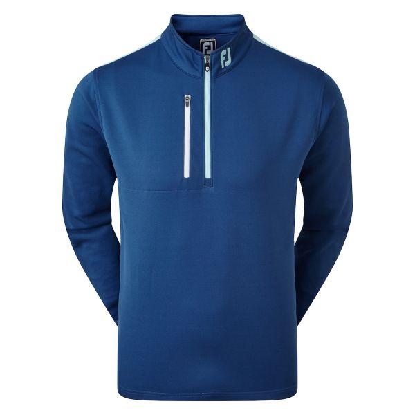 Footjoy Sleeve Stripe Chill-Out Pullover Herren blau