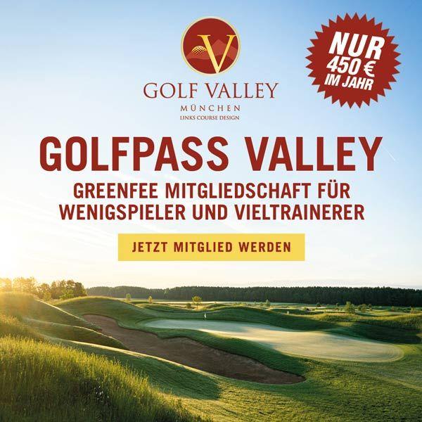 Golfpass Valley - Golf Mitgliedschaft