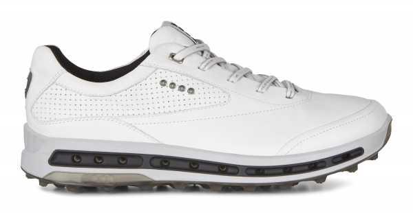 Ecco Golf Cool Pro Herren Golfschuh weiß/schwarz mit transparenter Sohle