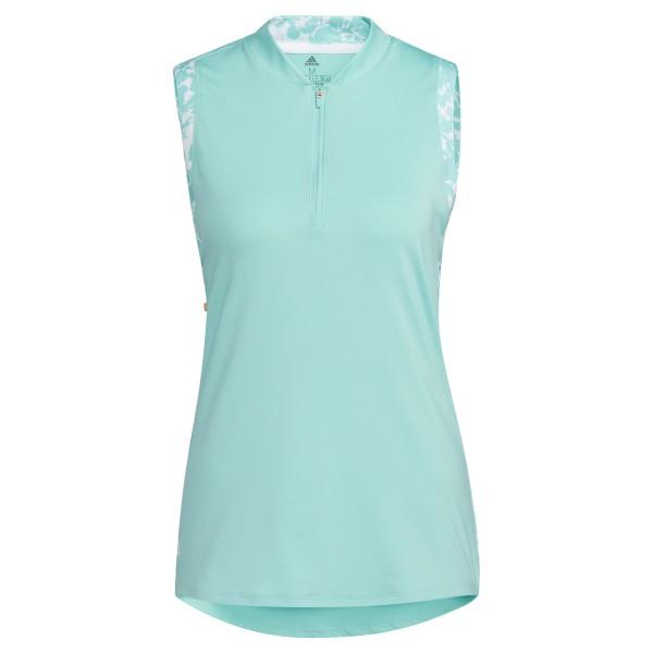 adidas Ultimate365 Printed sleeveless Polo Damen