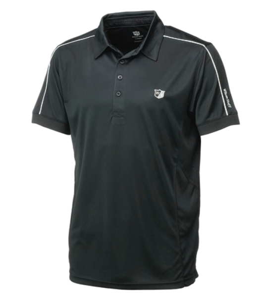 Wilson Staff Performance Polo Herren schwarz