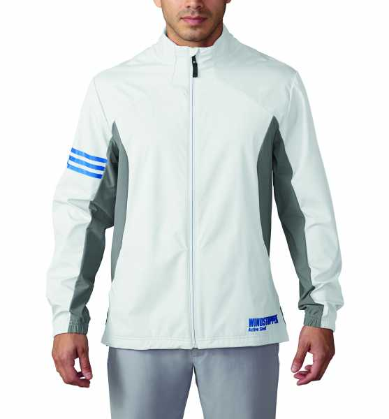 adidas Gore Windstopper Full-Zip Herrenjacke weiß
