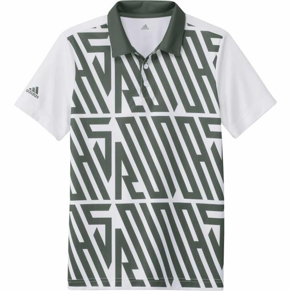 adidas Printed Shortsleeve Polo Jungen