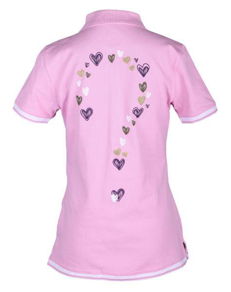 Girls Golf Hearty? Polo Damen rose