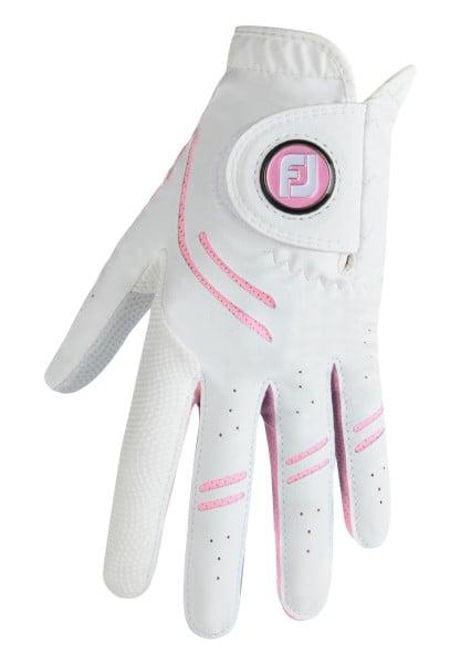 Footjoy GTXtreme Handschuh Damen weiß/rosa