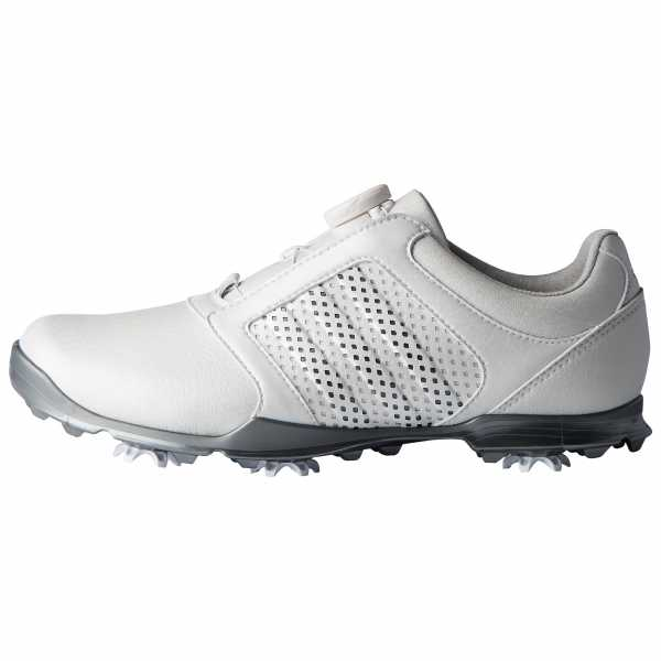 adidas W adipure Sport Golf Schuhe, Damen Grau/Korallenrot,40 EU