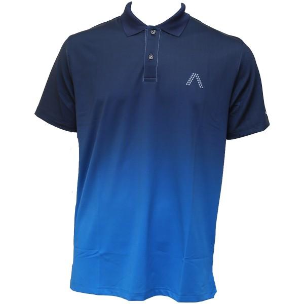 Alberto MILO Dry Comfort Polo Herren blau