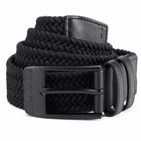 Under Armour Braided 2.0 Gürtel Herren schwarz