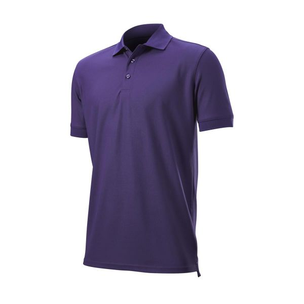 Wilson Staff Authentic Polo Herren lila