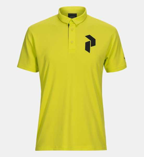 Peak Performance PANMORE Polo Herren gelb