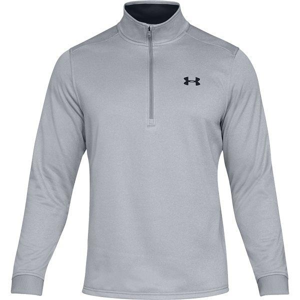 Under Armour Fleece Pullover 1/-Zip Herren grau
