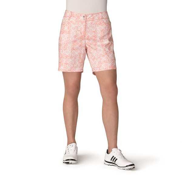 adidas Printed Short Damen orange/weiß