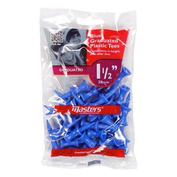 """Masters Plastic Graduated Tees 25 Stück {- 1 1/2"""""""