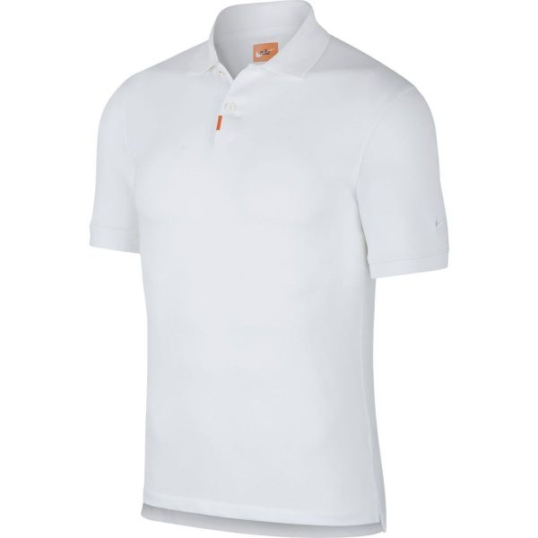 Nike Slim Fit Polo Herren weiß