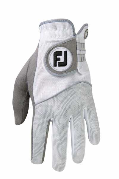 Footjoy Raingrip Handschuh Damen grau/weiß