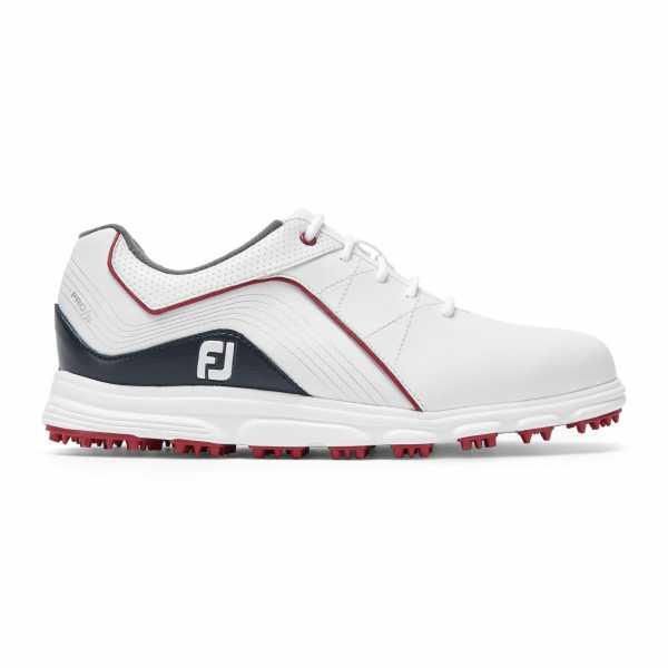 Footjoy Junior Pro SL Schuh Kinder weiß/navy/rot