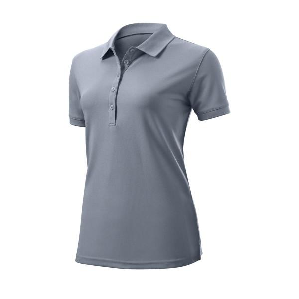 Wilson Staff Authentic Polo Damen grau