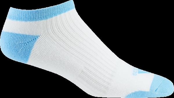 adidas Comfort Low Sock Damen weiß blau