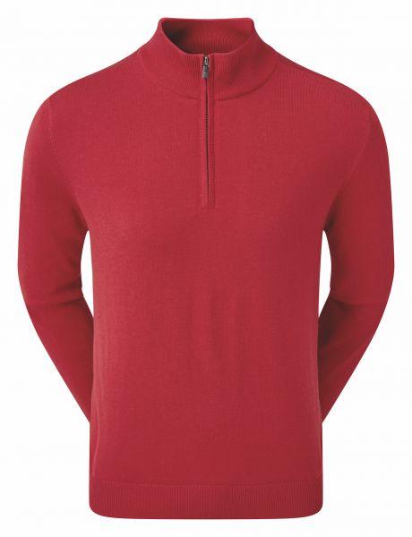 Footjoy Wool Blend 1/2-Zip Lined Pullover Herren