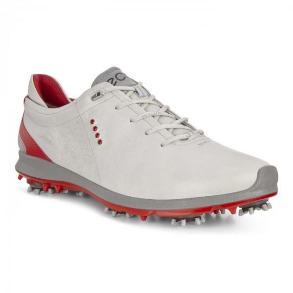 Ecco Golf BIOM G2 Schuh Herren grau/rot